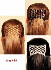 Magic Diamonds 321 clip EZ Comb Different Hair styles (UK)