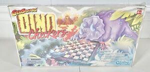 RARE! Geosafari Dino Checkers Kidology Vtg Board Game Educational Insights New