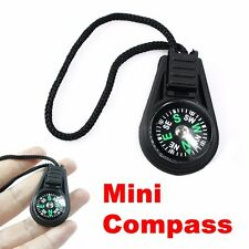 COMPASS Mini keychain fob camping hiking outdoors US SELLER key chain great gift