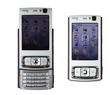 NOKIA N95 Plum Silver 3G WIFI GPS 5MP Unlocked free shipping