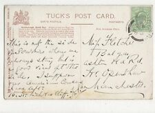 Miss Fletcher Balgay Ashton Old Road Openshaw Manchester 1906 335a