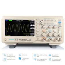 GA1102CAL 1Gsa/s 100mhz TFT 7 inch LCD Digital Oscilloscope kit Probe 2 Channel