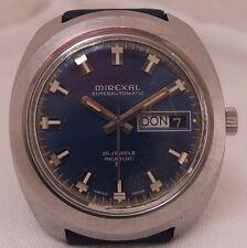 Mirexal Automatik Herrenuhr Armbanduhr Stahl Vintage 70 er Jahre