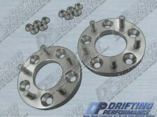 """UNIVERSAL 5/8"""" (16mm) WHEEL ADAPTERS SPACERS 5X114.3 240SX 300ZX 350Z 370Z QUEST"""