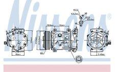 NISSENS Compresor, aire acondicionado PEUGEOT 307 207 PARTNER CITROEN C4 89067