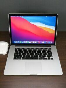 """Apple 2014 MacBook Pro 15"""" Retina / 2.2Ghz i7 / 16GB RAM / 256GB SSD + Warranty"""