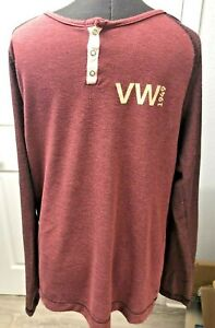 Rare VW VolksWagon Limited Long Sleeve Men's size Large Shirt New Display
