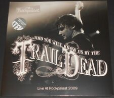 ...TRAIL OF DEAD live at rockpalast 2009 UK 2-LP new sealed GREY VINYL deluxe