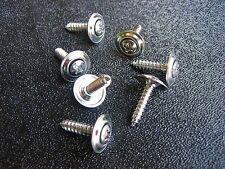 "#8 x 3/4"" Chrome Fender Moulding Screws Trim Panel Wheel Wells"