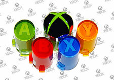 Genuine Microsoft XBox 360 Game Controller ABXY Guide Button OEM Replacement Set