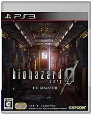 PS3 Biohazard0 HD remastered Resident Evil Multi-language New Japan F/S w/Track