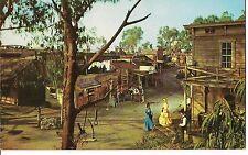 MAIN STREET Ghost Town Knott's Berry Farm Buena Park, CALIFORNIA Postcard CA