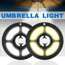 36LED Parasol Patio Umbrella Light 2 Brightness Mode Outdoor Camping Tent Lamp