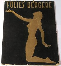 VINTAGE CAN-CAN GIRLS CABARET Folies Cheries Bergere Derval Paris France French