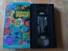 Blue's (Clues) Room - Alphabet Power (VHS, 2005) BL
