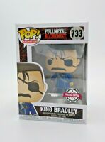 FUNKO POP! ANIMATION: FULL METAL ALCHEMIST- KING BRADLEY SPEC.ED #733 *UK STOCK*