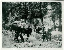 1914 World War I Russian Cavalry Advance Original News Service Photo