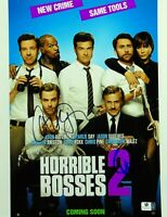 Chris Pine/Christoph Waltz Autographed 11X14 Photo Horrible Bosses 2 GV834947