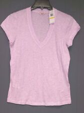 NWT - ORIGINAL PENGUIN Women's 'V-NECK' Orchid Ice Heather TEE  T-SHIRT - XS