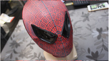 HOT New Amazing Spider-Man Mask Party Cosplay RED BLACK Face Mask