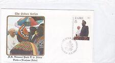 Zaire Congo 718 PAPA GIOVANNI PAOLO II POPE JOHN PAUL II VISIT Africa 1985