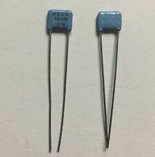 Uscc Cw30c104k Ceramic Radial Capacitors 100nf 100 Pcs