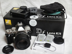 Nikon DF + Nikon 50mm f1.8 G AF-S + 3x Bat + WU-1a 28.459 Shots +BOX Special Ed.