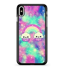 Space Cupcakes Rainbow Starry Colourful Milky Way Galaxy Sky Phone Case Cover