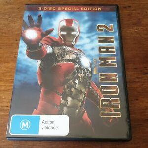 Iron Man 2 DVD R4 Like New! FREE POST