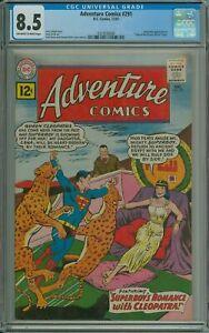 ADVENTURE COMICS #291 CGC 8.5 SUPERMAN 'Tales of the Bizarro World' DC 1961