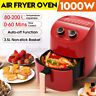 3.5L Air Fryer 1000W Kitchen Oven Airfryer Oil Free Low Fat Healthy Cooker Oven