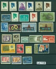 1138-INDONESIA-selection of 27 MH/MNH stamps from various years