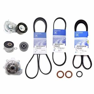 Engine Timing Belt Kit Set For GM Chevrolet Cruze 1.6L 1.8L 2008-2012 OEM Parts
