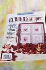 RUBBER STAMPER Magazine Scrapbooking, Crafts, Stamping Ideas Jan 2003