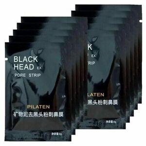5 x FACE MASK PILATEN BLACKHEAD ACNE REMOVER CLEANSER PORE STRIPS