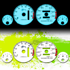 INDIGLO GLOW GAUGE+HARNESS WHITE DASH FOR 94-01 ACURA INTEGRA DC DB RS LS GS AT