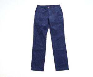 Vineyard Vines Mens Size 30x32 Slim Fit Breaker Corduroy Chino Pants Navy Blue