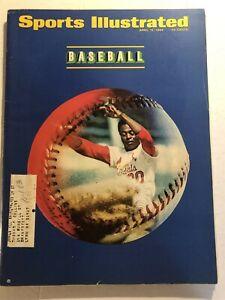1968 Sports Illustrated ST LOUIS CARDINALS Lou BROCK Baseball Preview BOB GIBSON