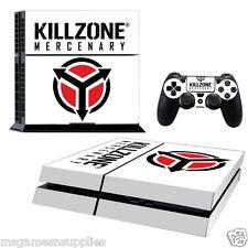 PS4 Playstation 4 Killzone Mercenary Console Skin Decal Sticker 3M ULTRA QUALITY