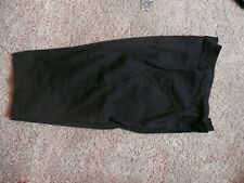 Faded Glory 16 W Black Capris Excellent cond
