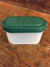Tupperware Modular Mates: SMALL Spice Container  - HUNTER GREEN.
