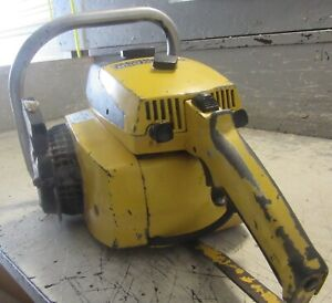"""VINTAGE COLLECTIBLE MCCULLOCH PRO MAC 55 CHAINSAW WITH 20"""" BAR"""