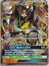 Carta Pokemon ZYGARDE GX 73/131 APOCALISSE DI LUCE FULL ART EX IPER IN ITALIANO