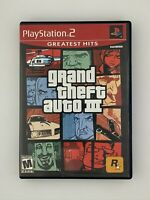Grand Theft Auto III - Playstation 2 PS2 Game - Complete & Tested