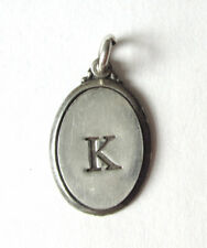 Sterling Silver 925 Letter L Initial Necklace Small Pendant