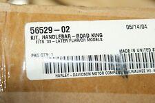 """NOS HARLEY DAVIDSON, BEACH BAR HANDLEBAR KIT ROAD KING 56529-02 1/1/4"""" wow!"""