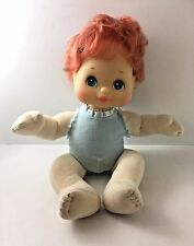VTG Mattel My Child Doll 1985 Red Head Blue Green Eyes Rosy Cheeks Cutie