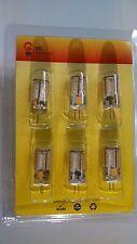 NEW 3G LED Six 6 JC G4 bipin SMD 12V 12-18v Landscape T3 3w LED Light bulb 2700k