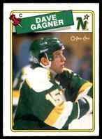1988-89 O-Pee-Chee Dave Gagner Rookie #215