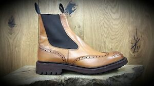 TRICKERS BUNDLE OFFER // Henry // Handmade 1001 Burnished Tan Chelsea Boots